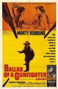 Ballad of a Gunfighter - 11 x 17 Movie Poster - Style A