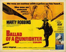 Ballad of a Gunfighter - 11 x 14 Movie Poster - Style A