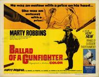 Ballad of a Gunfighter - 22 x 28 Movie Poster - Half Sheet Style A