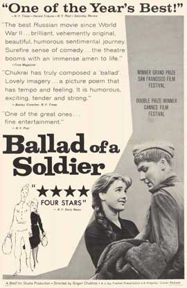 Ballad of a Soldier - 11 x 17 Movie Poster - Style A