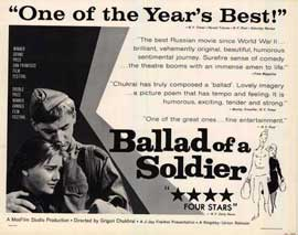 Ballad of a Soldier - 11 x 14 Movie Poster - Style A