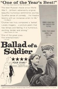 Ballad of a Soldier - 27 x 40 Movie Poster - Style A