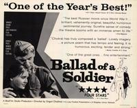 Ballad of a Soldier - 22 x 28 Movie Poster - Half Sheet Style A