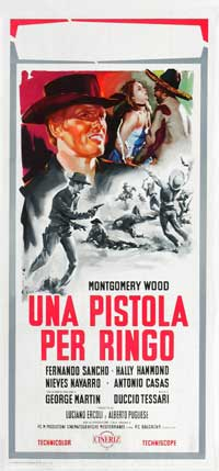 Ballad of Death Valley - 13 x 26 Movie Poster - Italian Style A