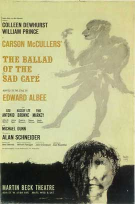 Ballad Of The Sad Cafe, The (Broadway) - 14 x 22 Poster - Style A