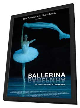 Ballerina - 27 x 40 Movie Poster - French Style A - in Deluxe Wood Frame