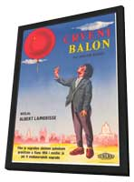 Ballon rouge, Le - 27 x 40 Movie Poster - Style A - in Deluxe Wood Frame