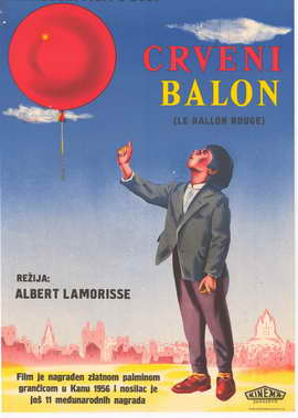 Ballon rouge, Le - 27 x 40 Movie Poster - Style A