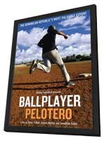Ballplayer - 11 x 17 Movie Poster - Style A - in Deluxe Wood Frame