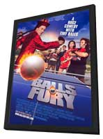 Balls of Fury - 11 x 17 Movie Poster - Style B - in Deluxe Wood Frame