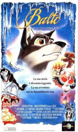 Balto - 11 x 17 Movie Poster - Italian Style A
