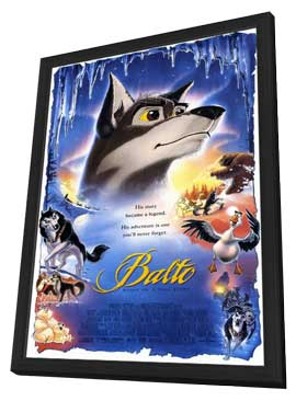 Balto - 11 x 17 Movie Poster - Style A - in Deluxe Wood Frame