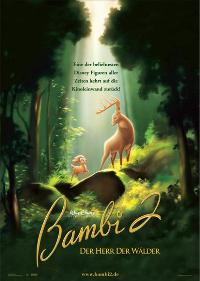 Bambi 2 - 27 x 40 Movie Poster - German Style A