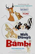 Bambi - 11 x 17 Movie Poster - Style M