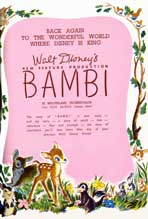 Bambi - 11 x 17 Movie Poster - Style N