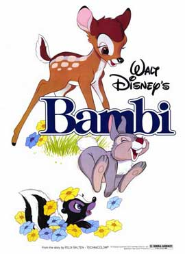 Bambi - 11 x 17 Movie Poster - Style A
