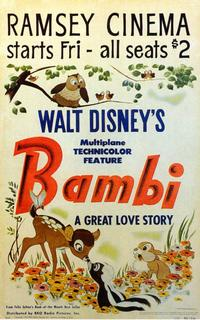 Bambi - 11 x 17 Movie Poster - Style C