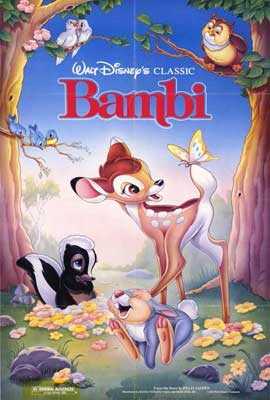 Bambi - 27 x 40 Movie Poster - Style A
