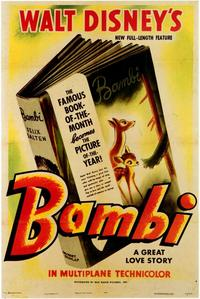 Bambi - 43 x 62 Movie Poster - Bus Shelter Style A