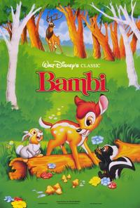 Bambi - 27 x 40 Movie Poster