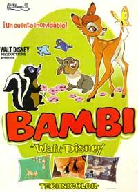 Bambi - 11 x 17 Movie Poster - Spanish Style B