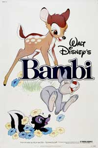 Bambi - 43 x 62 Movie Poster - Bus Shelter Style B