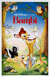 Bambi - 27 x 40 Movie Poster - Style H