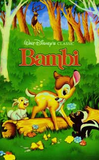 Bambi - 27 x 40 Movie Poster - Foreign - Style B