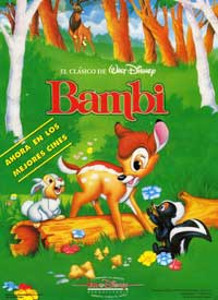 Bambi - 11 x 17 Movie Poster - Spanish Style C