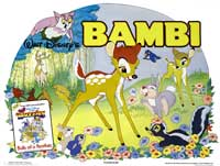 Bambi - 30 x 40 Movie Poster UK - Style A