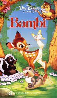 Bambi - 11 x 17 Movie Poster - Australian Style A