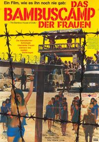 Bamboo House of Dolls - 11 x 17 Movie Poster - German Style A