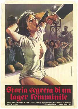 Bamboo House of Dolls - 27 x 40 Movie Poster - Italian Style A