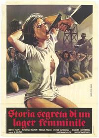 Bamboo House of Dolls - 39 x 55 Movie Poster - Italian Style A