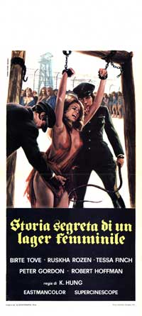 Bamboo House of Dolls - 13 x 28 Movie Poster - Italian Style A
