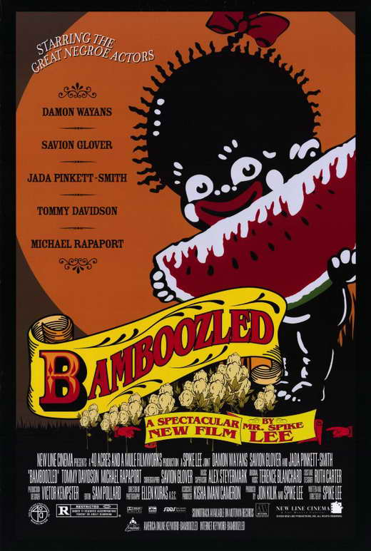 an overview of the movie bamboozled The movie in bamboozled we follow pierre delacroix, portrayed by renowned actor damon wayans delacroix is a harvard graduate and an executive at a large television .