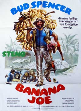 Banana Joe - 27 x 40 Movie Poster - Danish Style A