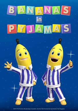 Bananas in Pyjamas: The Movie - 11 x 17 Movie Poster - Style A