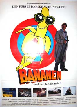 Bananen - 27 x 40 Movie Poster - Danish Style A