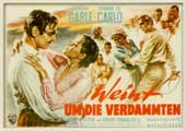 Band of Angels - 27 x 40 Movie Poster - German Style A