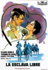 Band of Angels - 27 x 40 Movie Poster - Spanish Style A