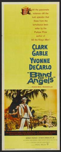 Band of Angels - 14 x 36 Movie Poster - Insert Style A