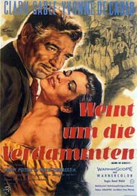 Band of Angels - 11 x 17 Movie Poster - German Style A