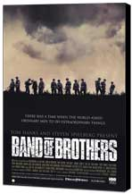 Band of Brothers - 11 x 17 Movie Poster - Style A - Museum Wrapped Canvas
