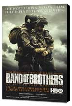 Band of Brothers - 11 x 17 Movie Poster - Style E - Museum Wrapped Canvas