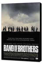 Band of Brothers - 11 x 17 Movie Poster - Style G - Museum Wrapped Canvas