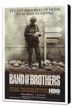 Band of Brothers - 27 x 40 Movie Poster - Style A - Museum Wrapped Canvas