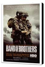 Band of Brothers - 27 x 40 Movie Poster - Style C - Museum Wrapped Canvas