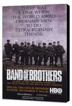 Band of Brothers - 27 x 40 Movie Poster - Style D - Museum Wrapped Canvas