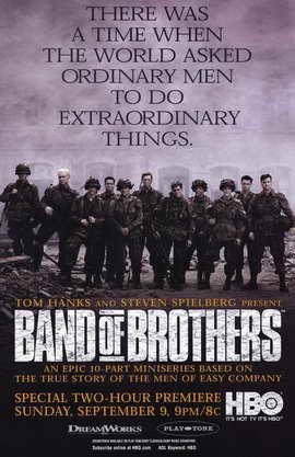 Band of Brothers - 11 x 17 Movie Poster - Style B
